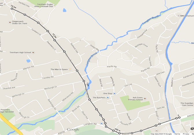 Trentham Pre-School Nursery 1900m + 900m = 2800m